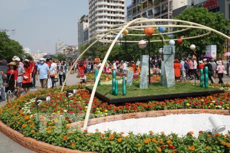 Công bố thông tin về Đường hoa Nguyễn Huệ Xuân Canh Tý 2020