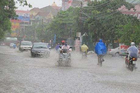 Từ đêm 15/8, bão số 4 sẽ gây mưa to ở các tỉnh Bắc Bộ và Bắc Trung Bộ