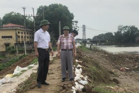 Hà Nội lập phương án phòng chống bão, đảm bảo an toàn đê tả sông Bùi