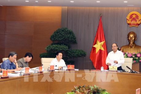 Thủ tướng Nguyễn Xuân Phúc chủ trì họp về chiến lược biển