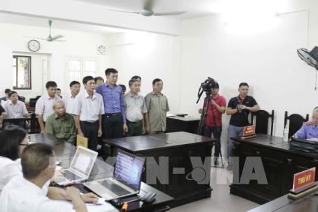 Xét xử vụ sai phạm đất đai ở Đồng Tâm: Các bị cáo xin giảm nhẹ hình phạt