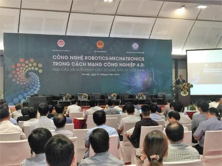 Liên kết để đẩy mạnh công nghệ Robot vào Việt Nam