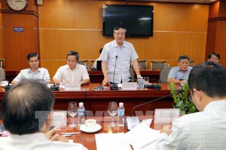 Đoàn kiểm tra Ban Bí thư TƯ làm việc với Ban cán sự Đảng Bộ Công Thương