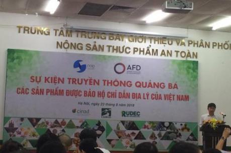 """Ra mắt ấn phẩm """"Chỉ dẫn địa lý – Di sản thiên nhiên và văn hóa Việt"""""""