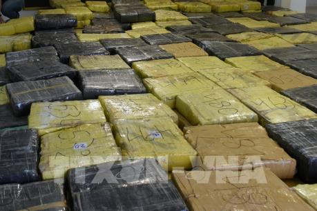 Triệt phá thành công đường dây vận chuyển ma túy từ Mỹ về Việt Nam
