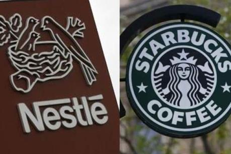 Nestle sẽ bán cà phê của thương hiệu Starbucks