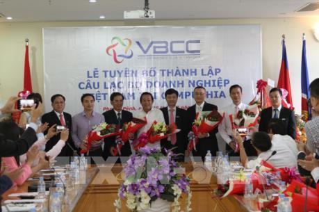 Câu lạc bộ Doanh nghiệp Việt Nam ra mắt tại Campuchia