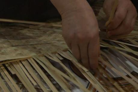Đan nan cót thành nghề cho dân Quốc Oai nguồn thu chính