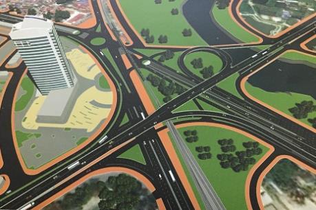 Khởi công Dự án đầu tư xây dựng Nút giao Nam Cầu Bính