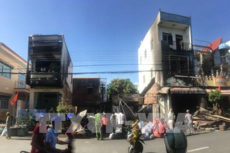 An Giang: Hoả hoạn thiêu cháy 5 căn nhà tại huyện Tri Tôn