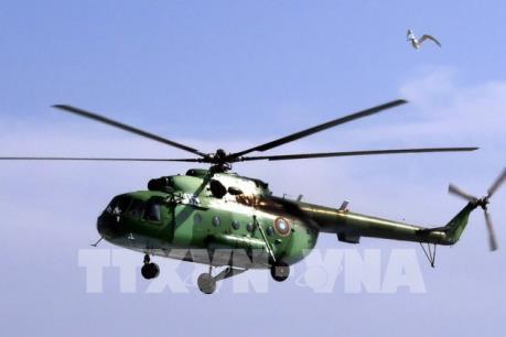 Thêm một vụ rơi máy bay trực thăng làm 12 thiệt mạng