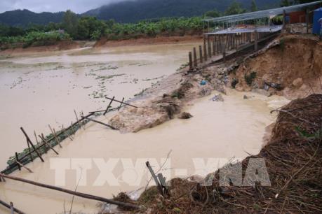 Bà Rịa-Vũng Tàu: Vỡ đập chứa nước khiến nhiều hộ dân thị xã Phú Mỹ bị ảnh hưởng