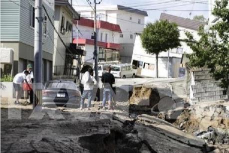 Nhật Bản: Hơn 30 người mất tích sau trận động đất mạnh
