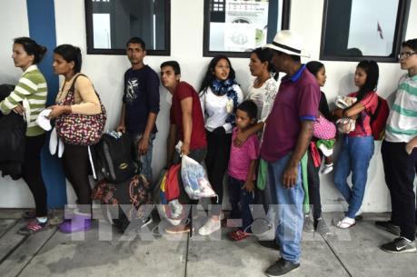 Venezuela đối mặt làn sóng người di cư