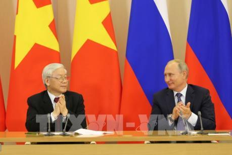 Tổng thống Vladimir Putin: Động lực mới đưa quan hệ LB Nga - Việt Nam ngày càng sâu rộng