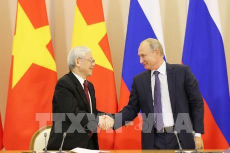Việt Nam - Liên bang Nga ký nhiều  văn kiện hợp tác quan trọng