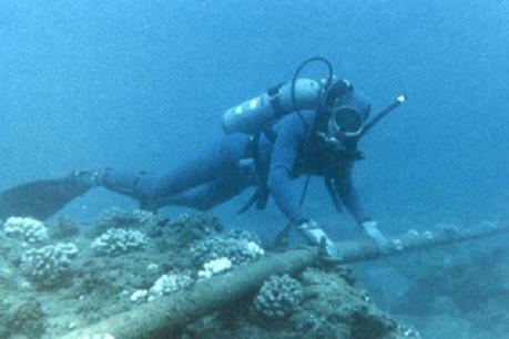 Tuyến cáp quang biển quốc tế đã được khắc phục 