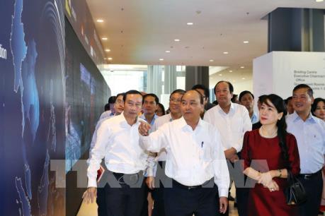Thủ tướng Nguyễn Xuân Phúc kiểm tra công tác chuẩn bị hội nghị WEF ASEAN 2018
