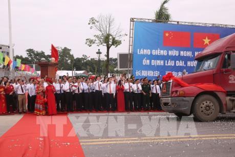 Chính thức mở cặp cửa khẩu Chi Ma (Việt Nam)–Ái Điểm (Trung Quốc)