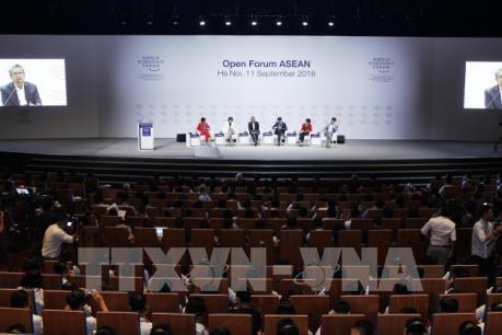"""WEF ASEAN 2018: Diễn đàn mở """"ASEAN 4.0 cho tất cả"""""""