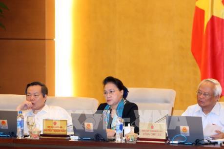 Ủy ban Thường vụ Quốc hội cho ý kiến về dự án Luật Hành chính công