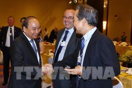 WEF ASEAN 2018: Thủ tướng Nguyễn Xuân Phúc đối thoại với các tập đoàn toàn cầu