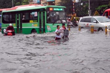 Tp. Hồ Chí Minh huy động máy bơm chống ngập mùa mưa và triều cường
