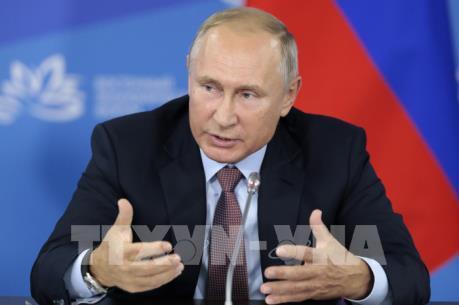 Tổng thống Nga lên tiếng phản đối chủ nghĩa bảo hộ