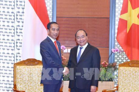 WEF ASEAN 2018: Thủ tướng Nguyễn Xuân Phúc hội kiến Tổng thống Indonesia