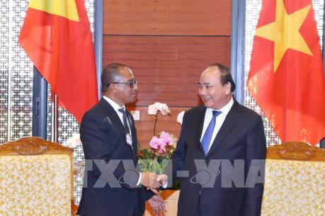 Thủ tướng Nguyễn Xuân Phúc tiếp Bộ trưởng Ngoại giao và Hợp tác Timor-Leste