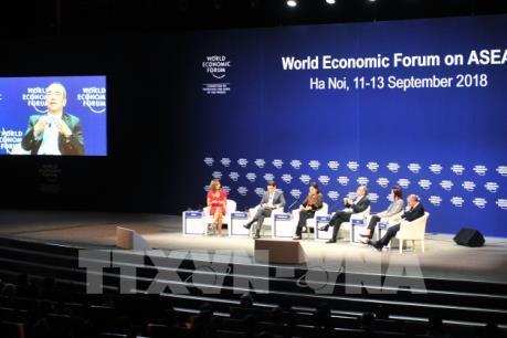 """WEF ASEAN 2018: Diễn đàn """"Tương lai kinh tế châu Á"""": Hợp tác là sức mạnh"""
