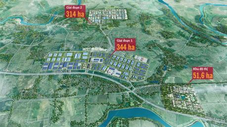 Xây dựng hệ thống hạ tầng kỹ thuật khu công nghiệp Yên Phong II-C, tỉnh Bắc Ninh