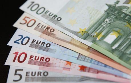 Đồng euro tăng lên mức cao nhất trong hai tuần