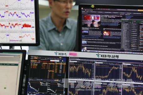 Chứng khoán châu Á hầu hết giảm điểm với xu hướng bán tháo cổ phiếu