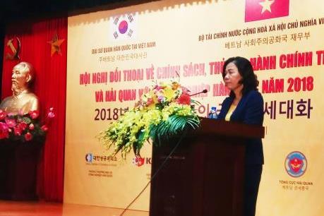 Đối thoại về thuế và hải quan với doanh nghiệp Hàn Quốc