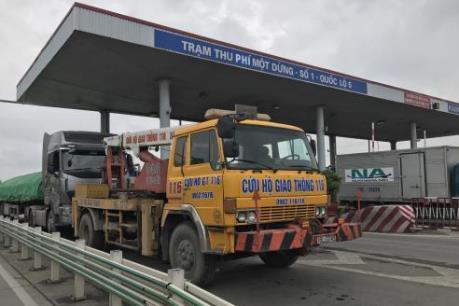 Giảm phí tối đa, trạm BOT Quốc lộ 5 vẫn bị gây rối