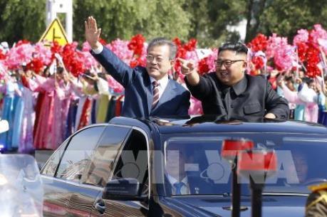 Tiến trình hòa bình trên bán đảo Triều Tiên bước lên nấc thang mới