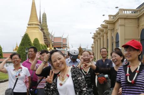 Du khách Trung Quốc tràn ngập Thái Lan