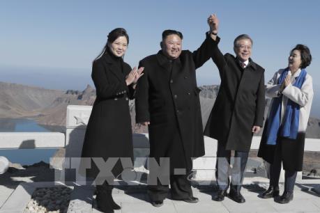 Tổng thống Hàn Quốc kết thúc chuyến thăm lịch sử Triều Tiên