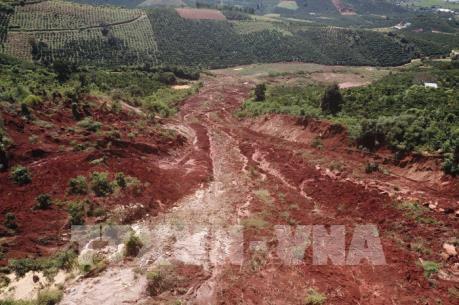 Nhiều hầm vàng trái phép tại Lâm Đồng bị đánh sập