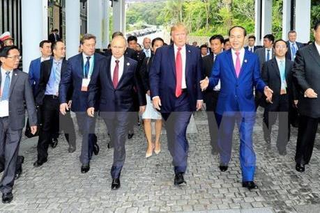 Bản lĩnh đối ngoại của Chủ tịch nước Trần Đại Quang làm nổi bật vị thế Việt Nam