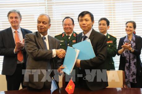 Lần đầu tiên Việt Nam cử quân y tham gia lực lượng gìn giữ hòa bình của LHQ