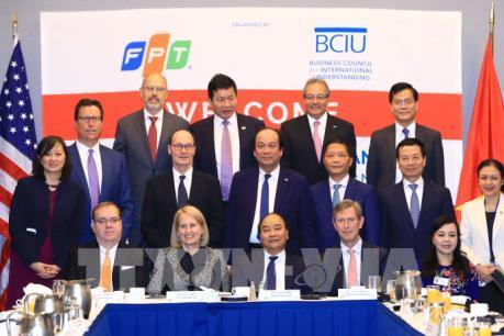 Thủ tướng chủ trì tọa đàm thu hút đầu tư vào Việt Nam tại Hoa Kỳ