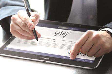 Từ 1/10, ứng dụng chữ ký số gửi, nhận văn bản điện tử