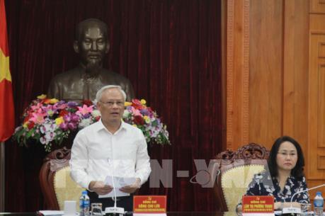 Ban Chỉ đạo Trung ương về phòng chống tham nhũng làm việc với tỉnh Lạng Sơn