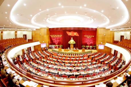 Ngày làm việc đầu tiên của Hội nghị lần thứ 8 Ban Chấp hành Trung ương Đảng khóa XII