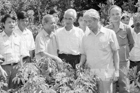 Đồng chí Đỗ Mười - tấm gương sáng về Cần - Kiệm – Liêm – Chính - Chí công vô tư