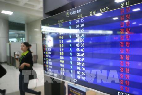 Sân bay quốc tế Jeju có thể được mở cửa trở lại trong ngày 6/10