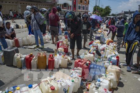 Động đất, sóng thần ở Indonesia: Tiếp tục sơ tán dân khỏi khu vực nguy hiểm