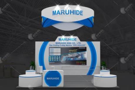 Tập đoàn Maruhide lần đầu giới thiệu máy gia công thép CNC tại Việt Nam